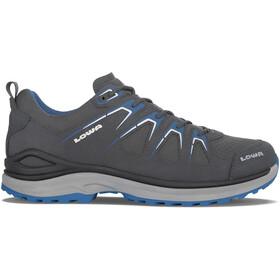 Lowa Innox Evo GTX Low Shoes Men asphalt/blue